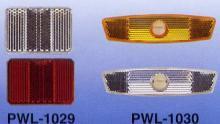 PWL-1029 Front & Rear Reflector, Spoke Reflector