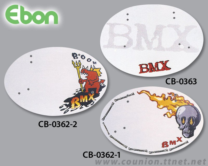 Ebon Number Plate